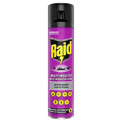 Raid Paral Multi Insekten-Spray, Mückenspray, zur Bekämpfung von fliegenden &...