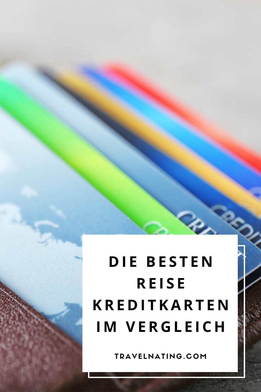 Reise Kreditkarten - Pinterest Pin