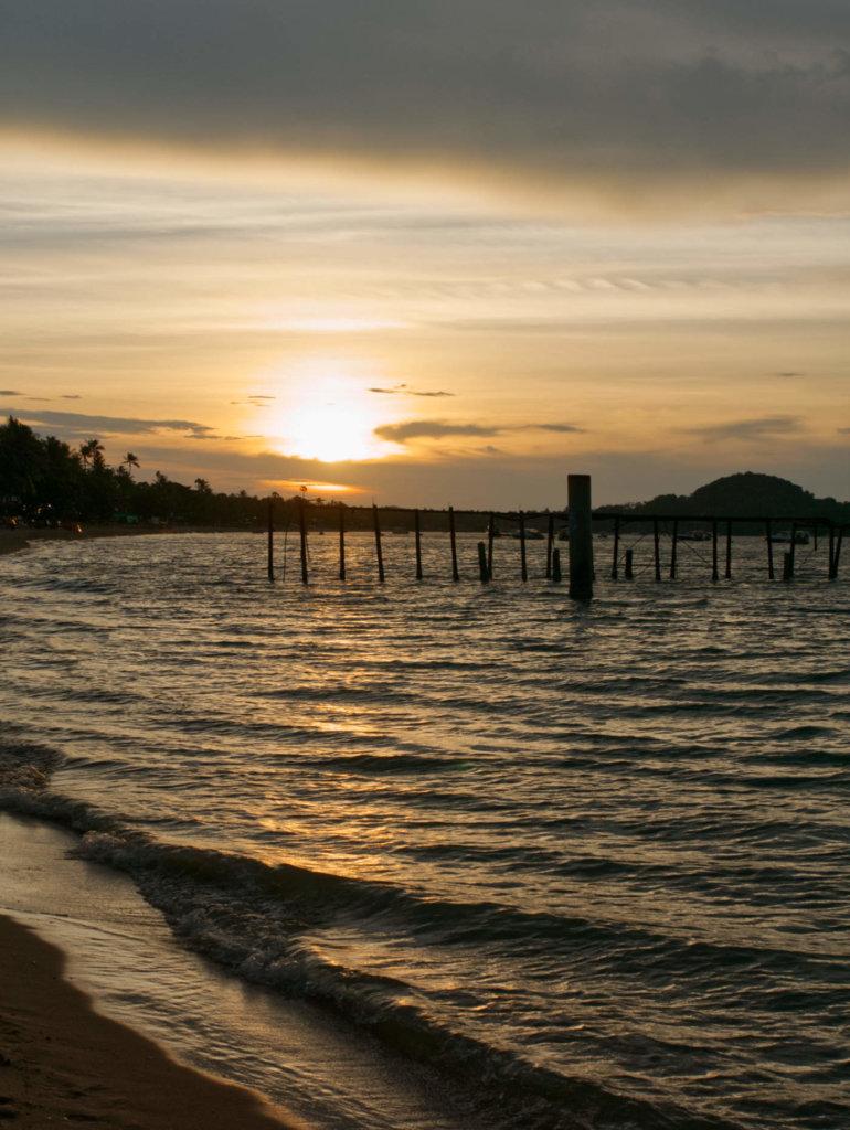 Sonnenuntergang-Koh-Samui-Fishermanns-Village