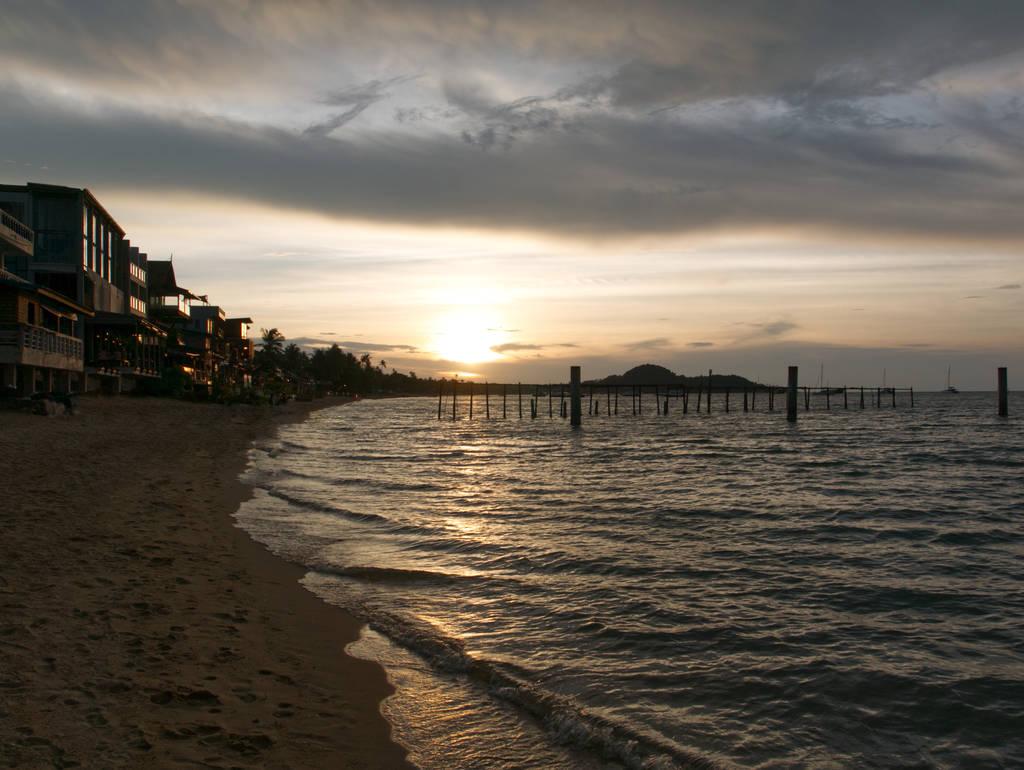 Bophut-Beach-Sonnenuntergang