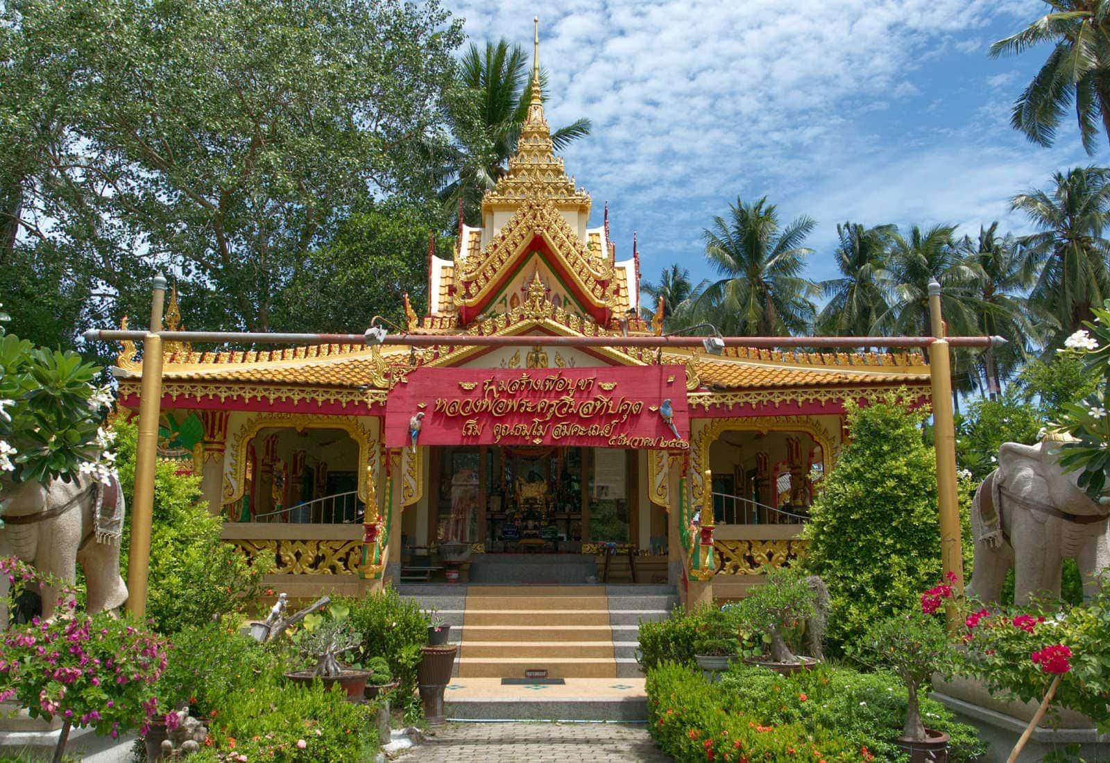Die 7 schönsten Tempel auf Koh Samui in Thailand