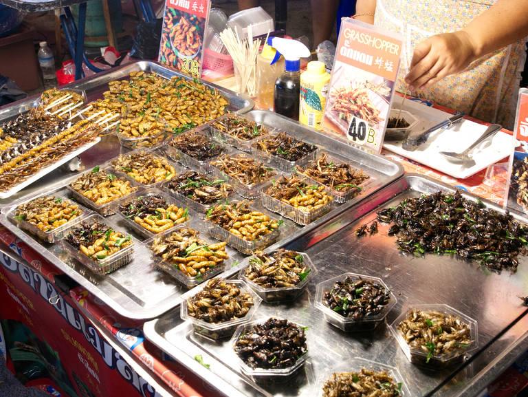 Fishermanns-Village-Night-Market-Insekten-Essen