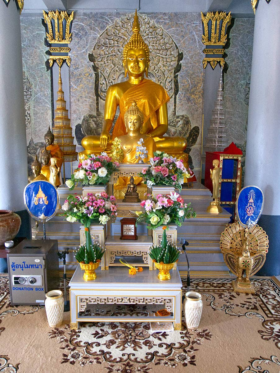 Khao-Hua-Jook-Pagoda-Gebetsraum