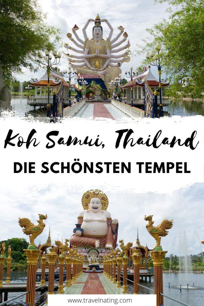 Koh Samui - die schönsten Tempel | Pinterest Pin