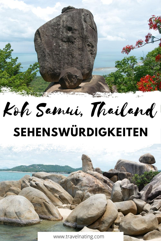 Koh Samui - Sehenswürdigkeiten & Ausflugsziele | Pinterest Pin