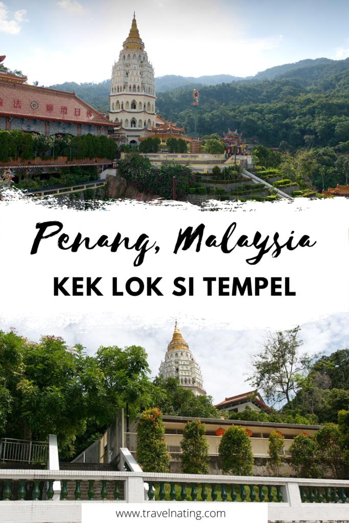 Kek Lok Si Tempel Penang - Pinterest Pin