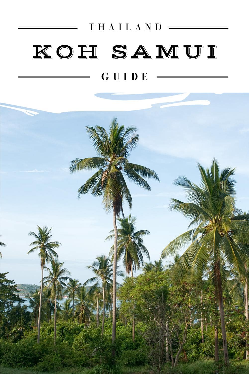 Koh Samui Reise Guide - Pinterest Pin
