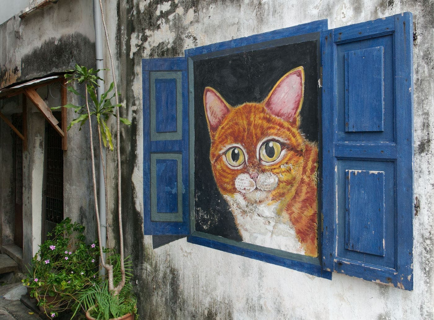 Street Art Tour durch George Town auf Penang in Malaysia