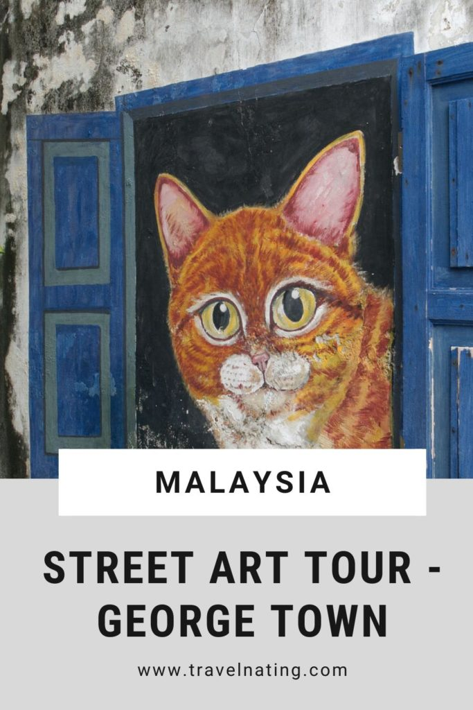 Street Art Penang - Pinterest Pin
