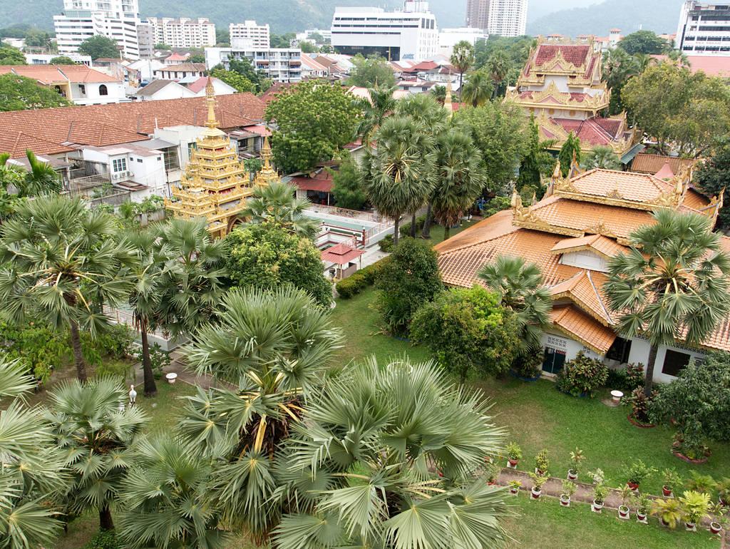 Dhammikarama-Burmese-Tempel-Aussicht