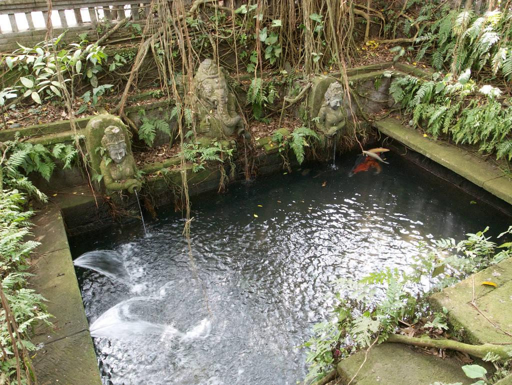 Affenwald-Ubud-Heiliges-Wasser