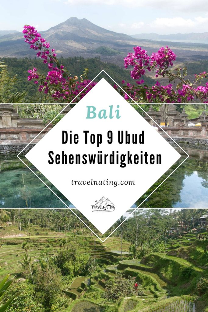 Bali - Ubud Sehenswürdigkeiten | Pinterest Pin