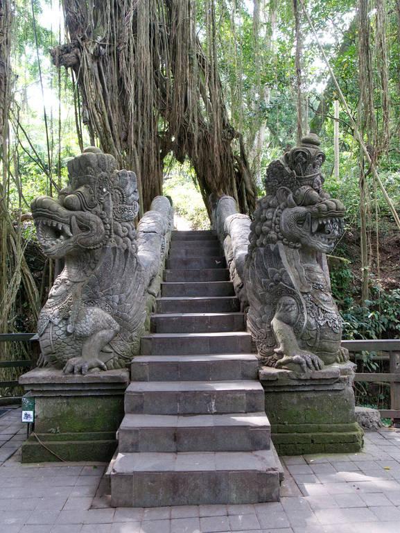 Monkey-Forest-Ubud-Drachentreppe