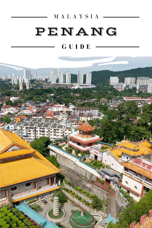 Penang Reise Guide - Pinterest Pin