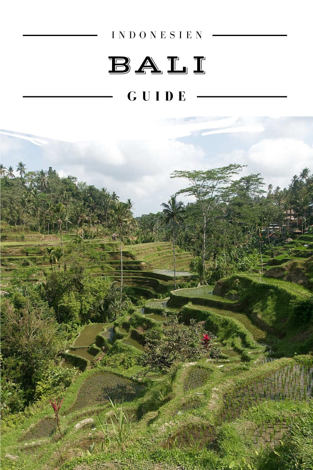 Bali Reise Guide - Pinterest Pin