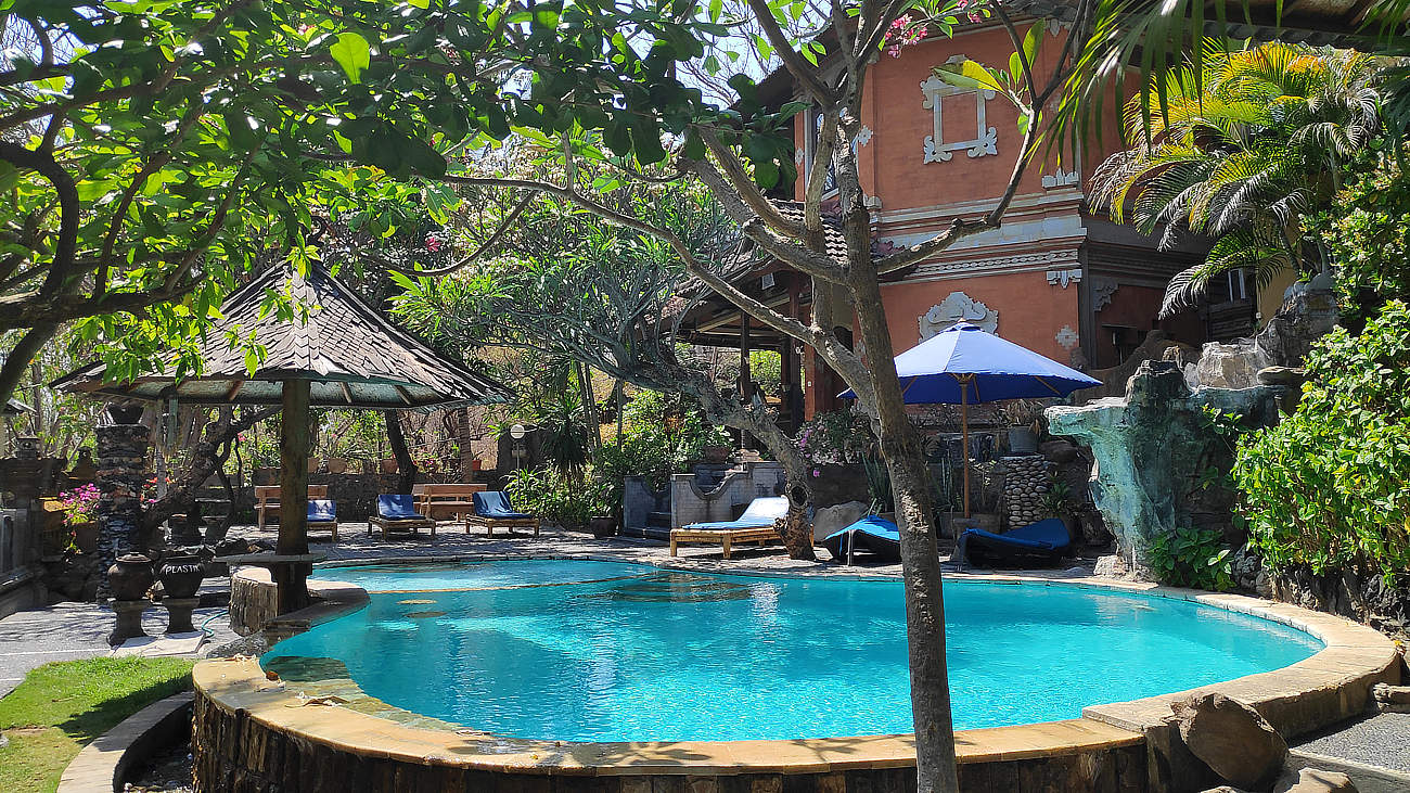 Bali - Unser Hotel in Amed