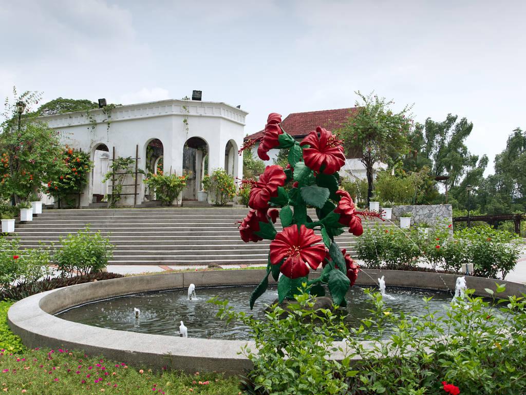 Kuala-Lumpur-Botanischer-Garten-Springbrunnen