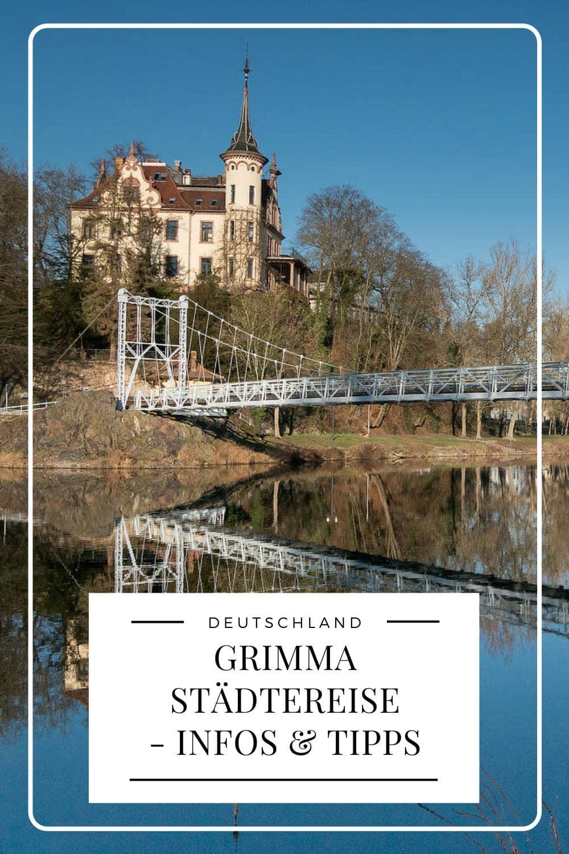 Grimma Städtereise - Pinterest Pin