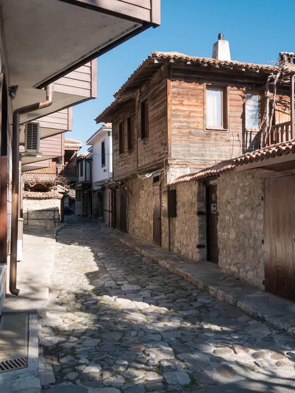 Nessebar-Altstadt-Bulgarien-Gasse