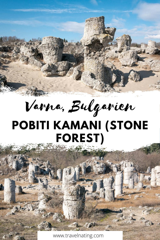 Pobiti Kamani Bulgarien - Pinterest Pin