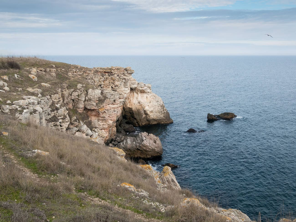 Tuylenovo-Cliffs-Bulgarien-Klippen
