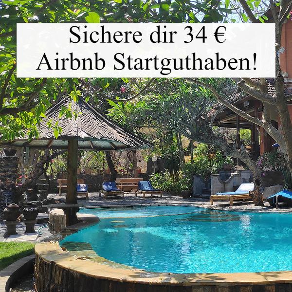 Airbnb Guthaben - Widget