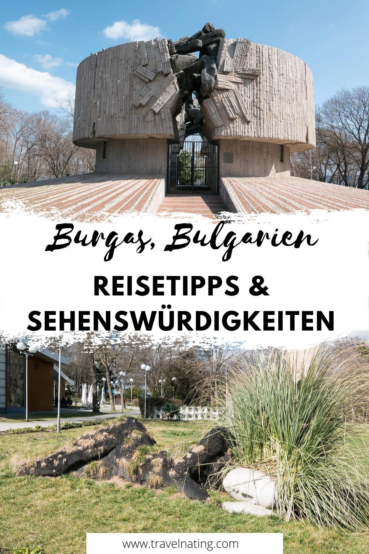 Burgas Reisetipps - Pinterest Pin