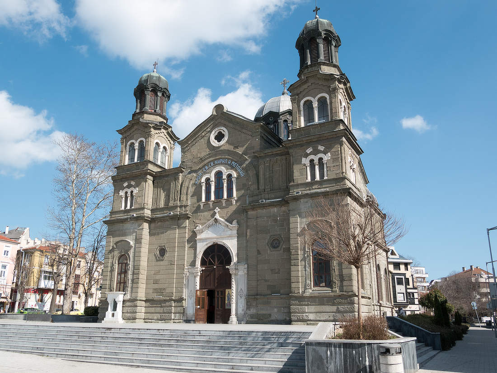 Burgas Kirche