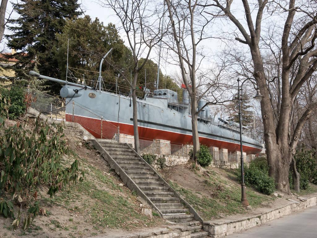 Varna - Marinemuseum Schiff