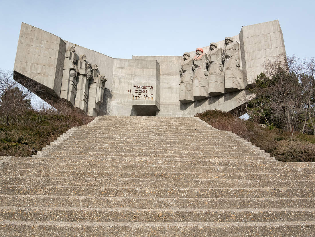 Monument Bulgarisch-Sowjetische Freundschaft Varna