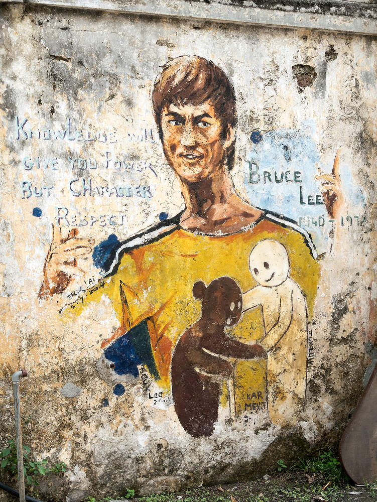 Street Art Ipoh Bruce Lee
