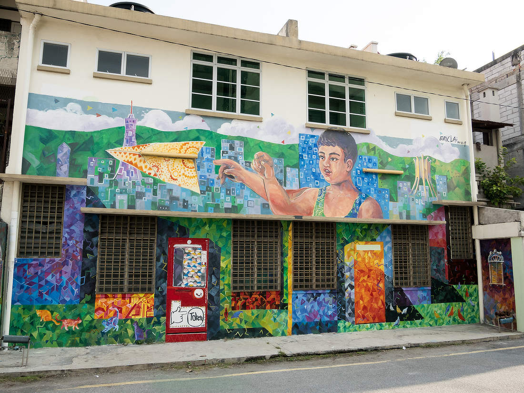 Street Art Ipoh Haus