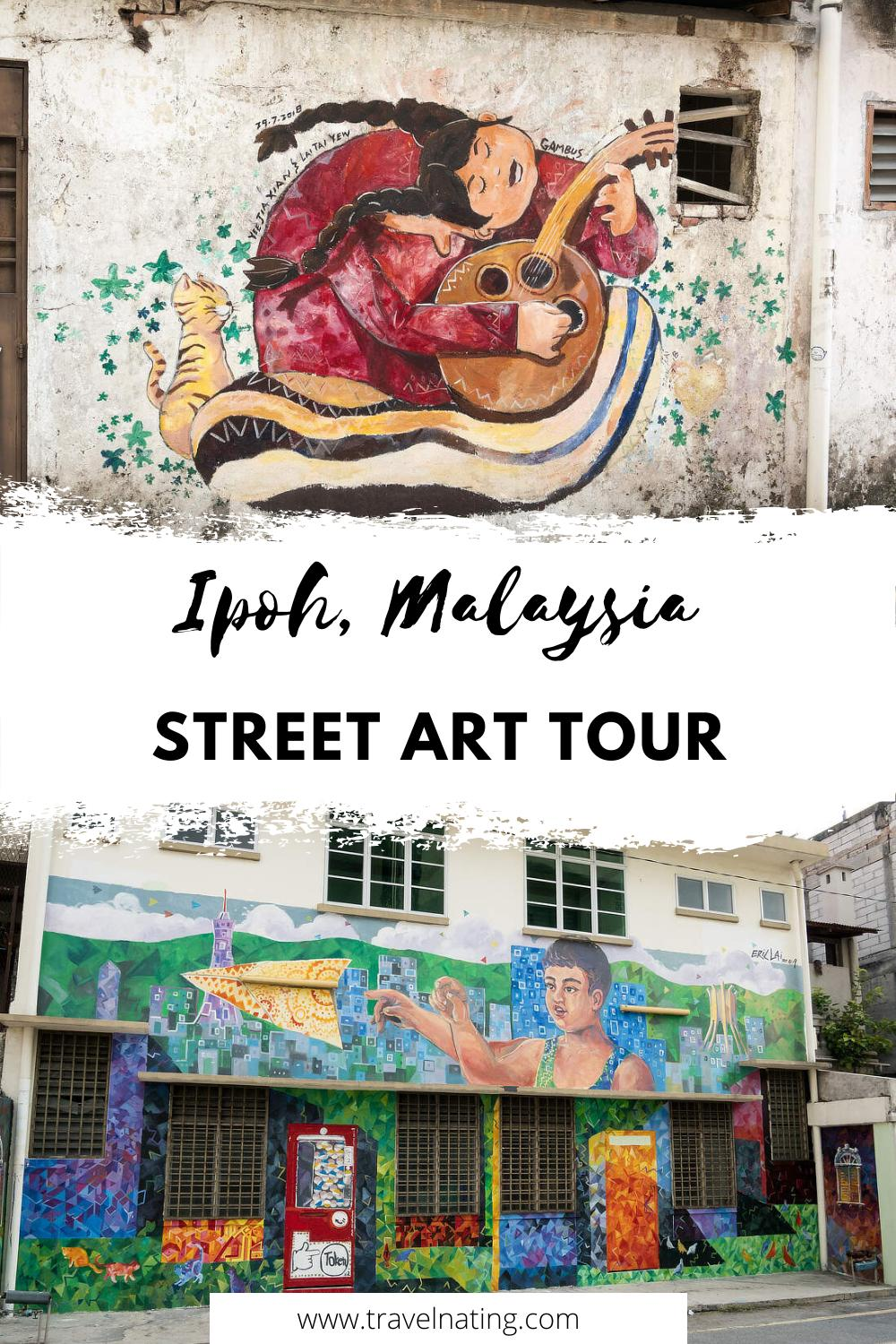 Street Art Ipoh - Pinterest Pin