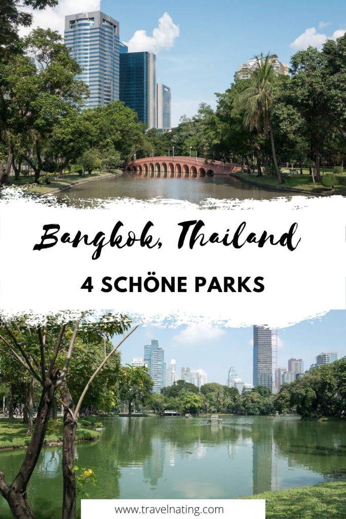 Bangkok Parks - Pinterest Pin