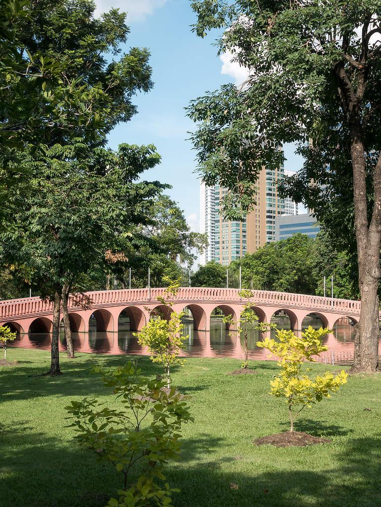 Chatuchak Park Bangkok - Brücke