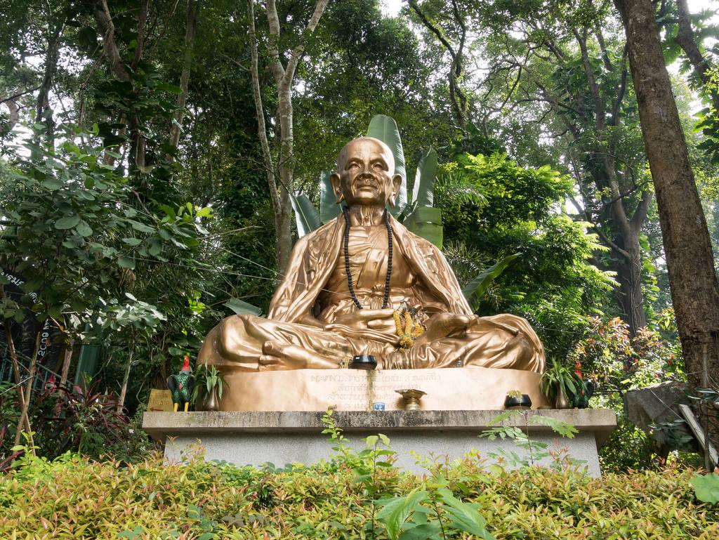 Doi Suthep Tempel Statue Eingang