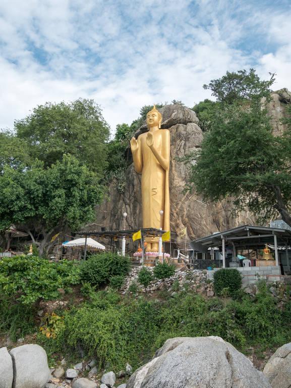 Golden Buddha Statue - Hua Hin