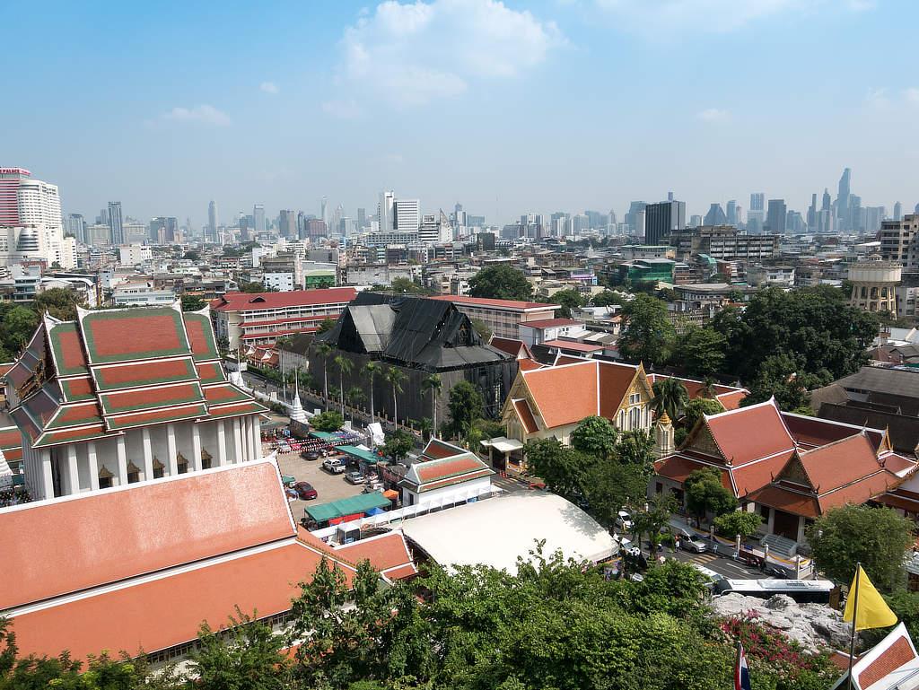 Golden Mount - Aussicht auf Bangkok