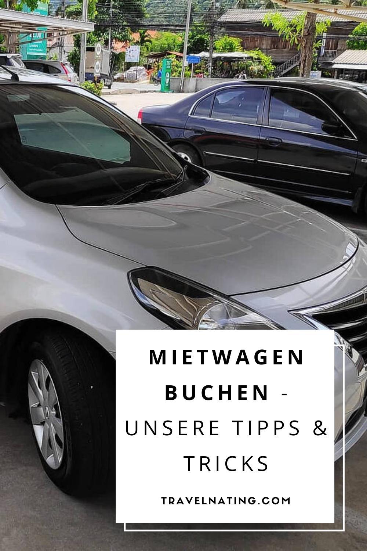 Mietwagen buchen - Pinterest Pin