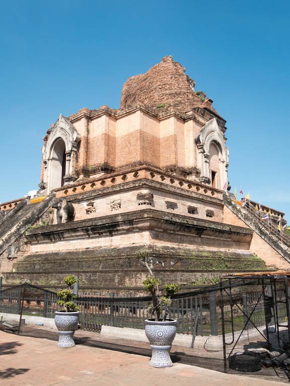 Wat Chedi Luang Tempel Chedi