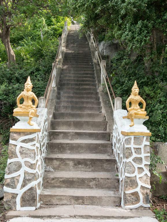 Wat Khao Lad - Treppe