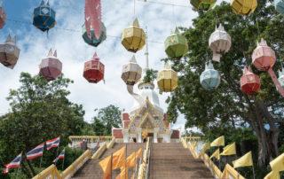Wat Khao Takiab - Weg zum Tempel