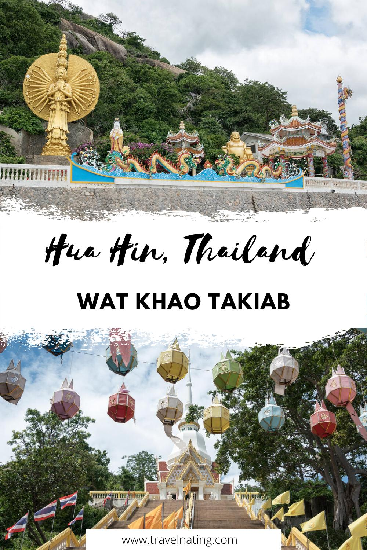 Wat Khao Takiab - Pinterest Pin