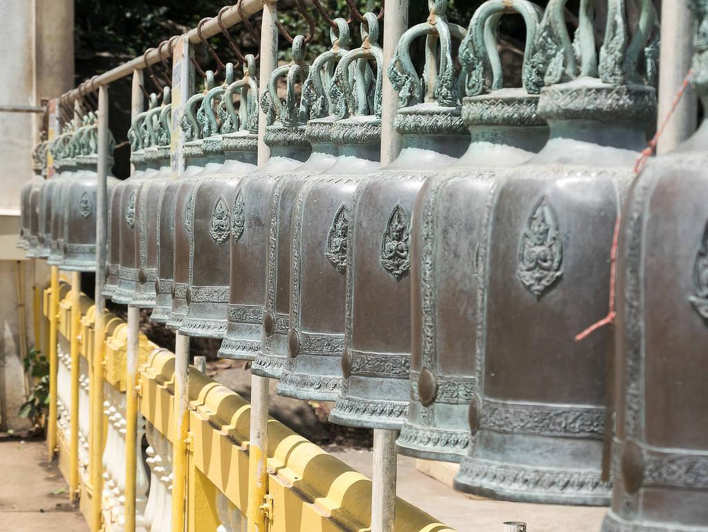 Wat Khao Takiab - Tempelglocken
