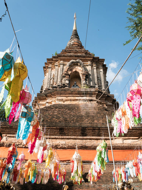 Wat Lok Molee - Chedi