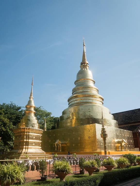 Wat Phra Singh - Chedi