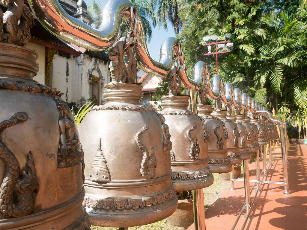 Wat Phra Singh Tempelglocken