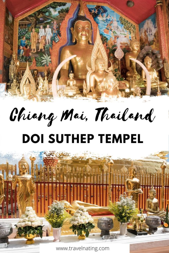 Wat Phra That Doi Suthep Tempel - Pinterest Pin