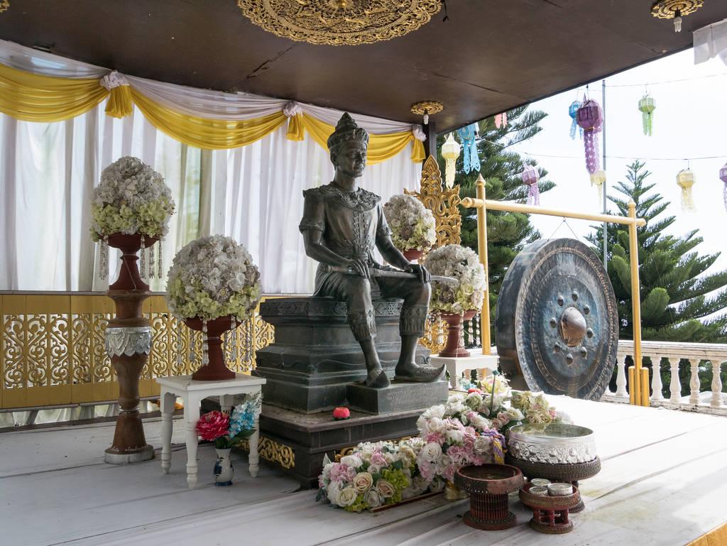 Wat Phra That Doi Suthep Tempel - Statue