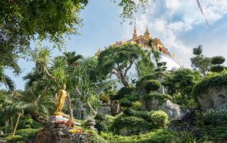 Wat Saket Golden Mount Bangkok Thailand
